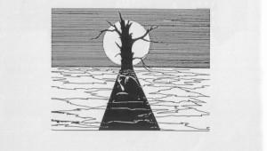 09 Л Кобзева. Иллюстрация к стих С Лёвина Скорбь